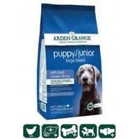 Arden Grange Puppy/Junior Large Breed – with fresh chicken and rice (Арден Грендж, корм для молодых собак крупных пород, цыпленок с рисом)
