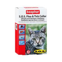 Ошейник а/б BEAPHAR для кошек 35 см (белый)