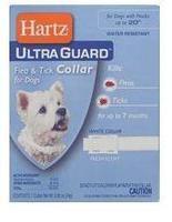 Hartz Ultra Guard Flea&Tick Collar for Dogs, white Ошейник для собак от блох 7 мес. и клещей на 5 месяцев. белый