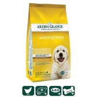 Arden Grange Weaning/Puppy – rich in fresh chicken ( корм для молодых собак, курица)