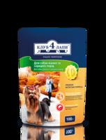 Клуб 4 лапы консервы для собак малых и средних пород